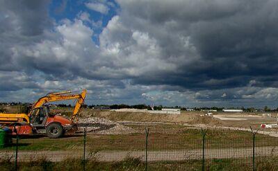 Prace budowlane na lotnisku w Radomiu