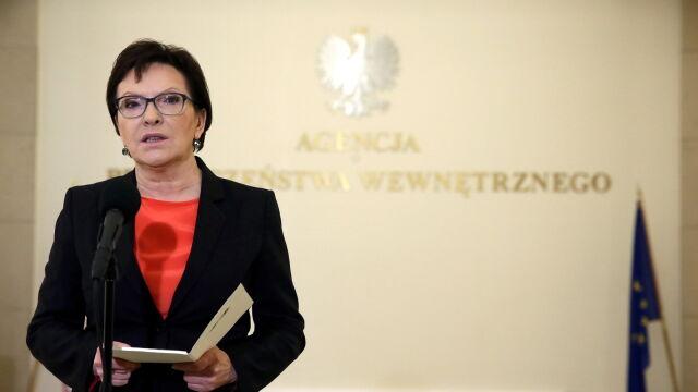 Kopacz: nie ma potrzeby podniesienia stopnia zagrożenia antyterrorystycznego w Polsce