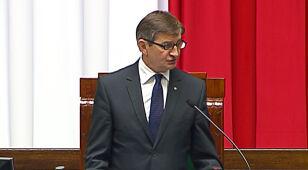 Marek Kuchciński marszałkiem Sejmu. Miał rywala