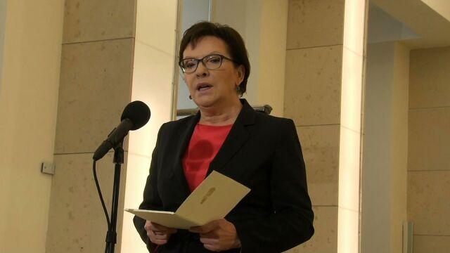 Kopacz: nie ma potrzeby podniesienia stopnia zagrożenia terrorystycznego w Polsce