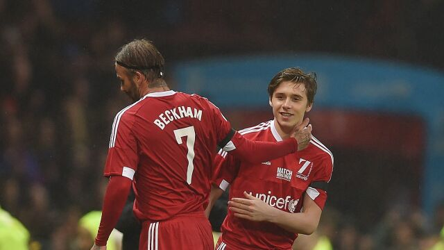 Beckham zmienił Beckhama. Sentymentalny powrót na Old Trafford