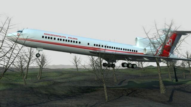 Rekonstrukcja tragicznego lotu
