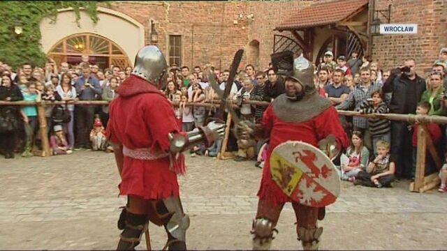 We Wrocławiu można było obejrzeć m.in. turniej rycerski