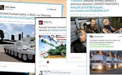 Konie trojańskie zmierzają na Ukrainę. Rosyjski konwój według internautów
