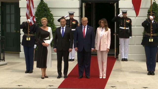 Andrzej Duda u Donalda Trumpa. Spotkanie prezydentów USA i Polski