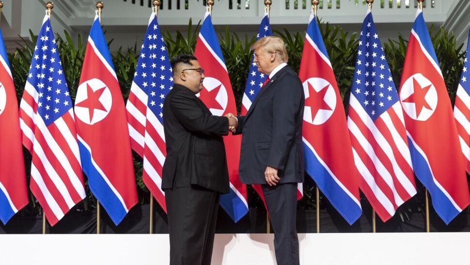 """""""Gdybym nie był prezydentem, mielibyśmy teraz wielką wojnę z Koreą Północną"""""""