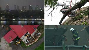 Gwałtowne burze nad Polską. Szły od zachodu