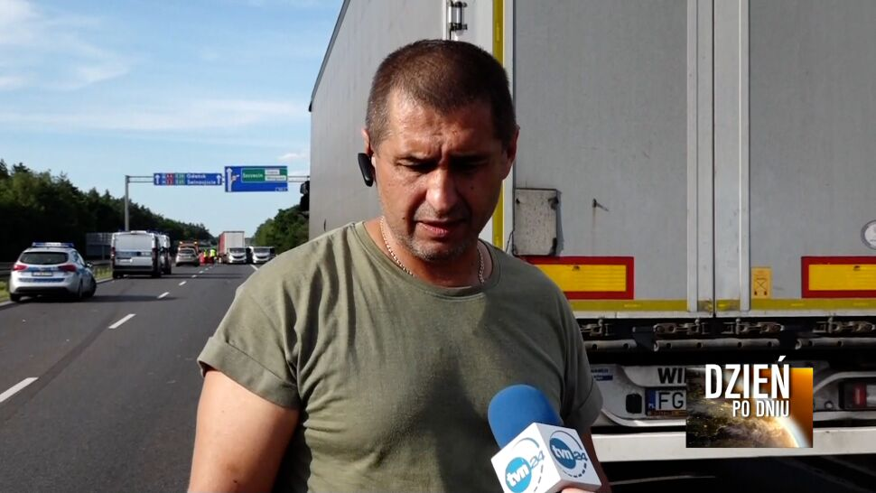 """""""Duży ogień był, w samochodzie zobaczyłem rodzinę, słyszałem krzyki"""""""