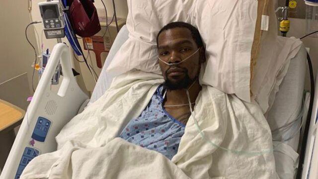 """Ścięgno zerwane, Durant po operacji. """"Wiem, że moi bracia mogą wygrać"""""""