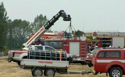 Członek zarządu Aeroklubu Ziemi Mazowieckiej o wypadku na pikniku lotniczym w Płocku