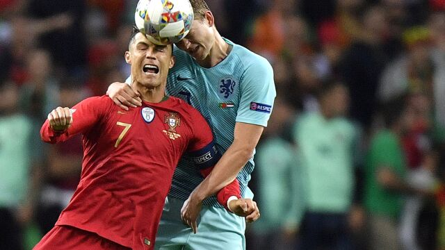 """Zaskakująca pogawędka z Ronaldo. """"Byłem zszokowany tym pytaniem"""""""
