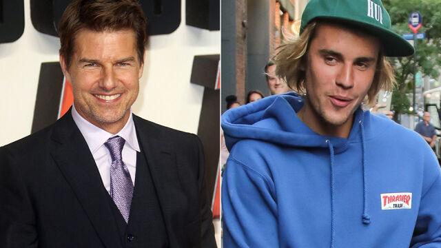 Justin Bieber chce się bić z Tomem Cruise'em