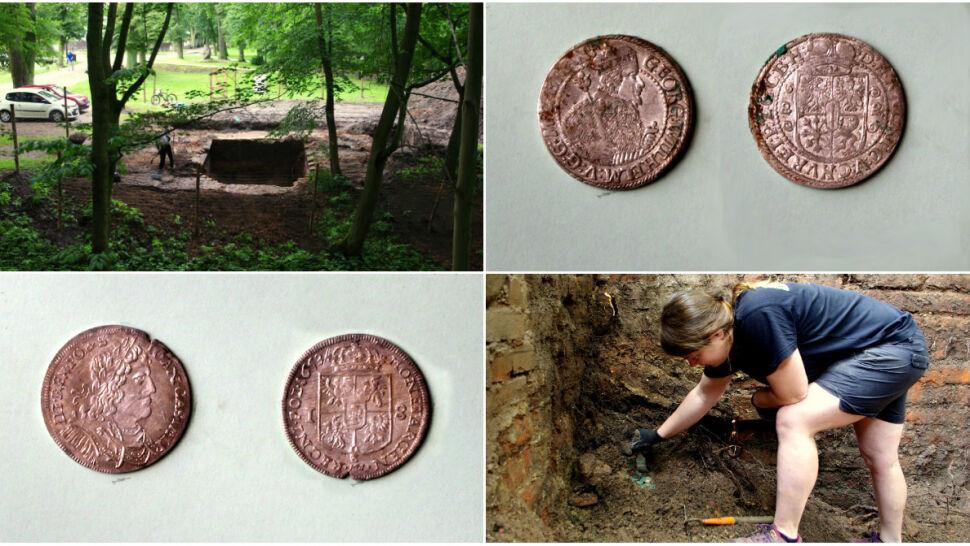 Skarb ukryty w krzyżackim zamku. Archeolodzy znaleźli cenne monety