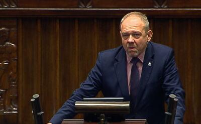 Kukiz'15 o strajku rezydentów w Sejmie