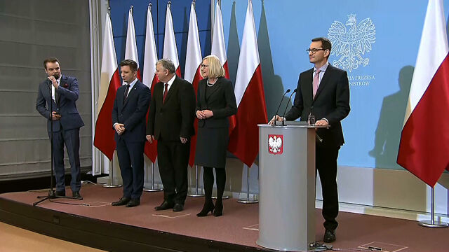 Premier Morawiecki przedstawił zmiany w kancelarii