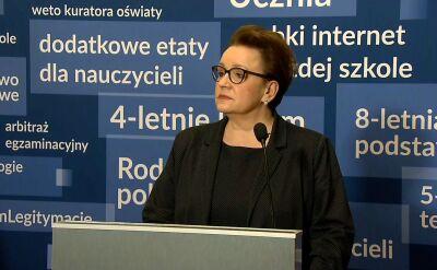 Zalewska: Wszystkie egzaminy przebiegły zgodnie z prawem i procedurami