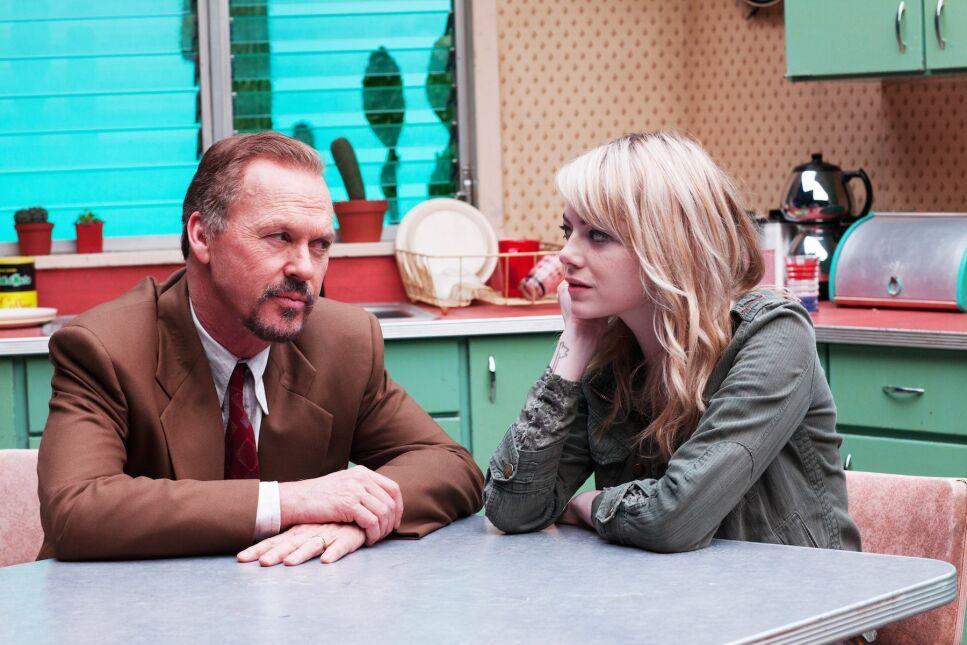 Emma Stone i Michael Keaton