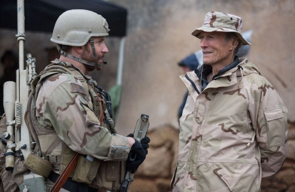 "Clint Eastwood i Bradley Cooper na planie ""Snajpera"""