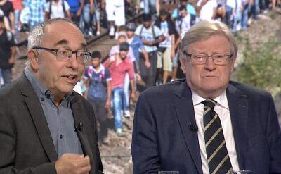 """Co zrobić z problemem uchodźców? """"Potrzebne są być może operacje wojskowe"""""""