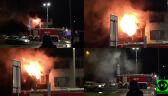 Silne zadymienie i utrudniona akcja strażaków. Pożar pustostanu