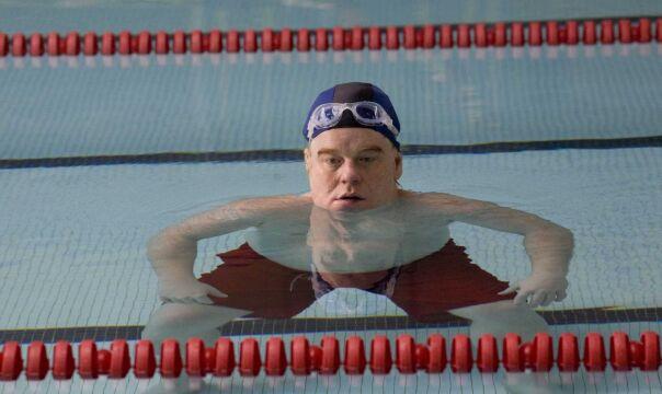 """Philip Seymour Hoffman w filmie """"Jack uczy się pływać"""", 2010 rok"""