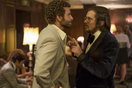 Bradley Cooper i Christian Bale