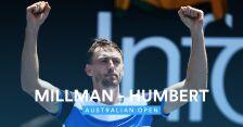 Skrót meczu Millman - Humbert w 1. rundzie Australian Open