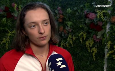Świątek: w tym sezonie chcę awansować na igrzyska olimpijskie