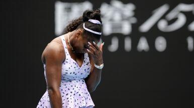 Serena Williams surowo oceniła swój występ.