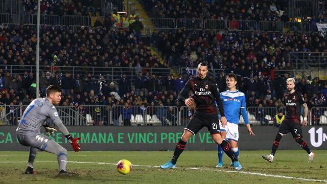 Milan dalej gra brzydko, ale zwycięża. Piątek nie podniósł się z ławki