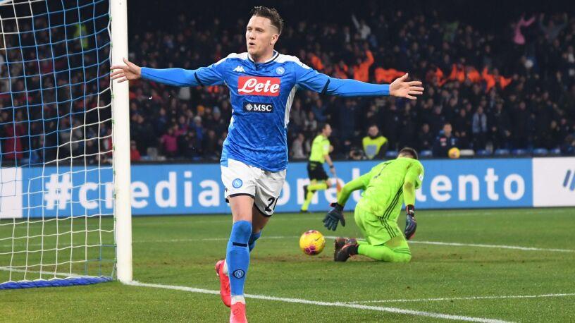 Napoli lepsze od mistrzów Włoch. Zieliński pokonał Szczęsnego