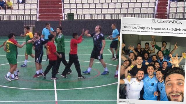 Kolejna kompromitacja piłkarzy ręcznych Boliwii. W całym meczu rzucili jedną bramkę