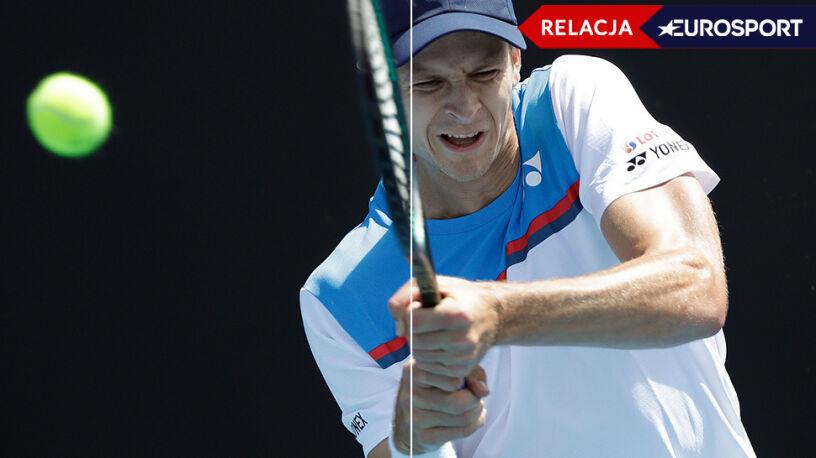 Hurkacz walczy o trzecią rundę Australian Open