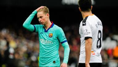 Barcelona zawodzi.