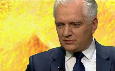 Gowin o karaniu posłów opozycji: mam inne stanowisko niż Kaczyński