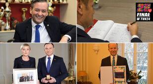 Politycy wspierają WOŚP. Do wylicytowania: dzień z Tuskiem i prezydenckie spinki
