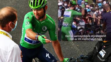 Nerwy tuż przed startem. Cavendish wściekł się na mechanika za źle przygotowany rower