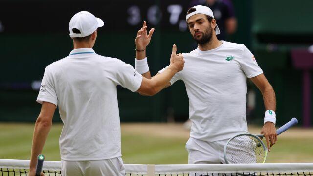 """Pogromca Hurkacza z Wimbledonu rezygnuje z igrzysk. """"Jestem zdruzgotany"""""""