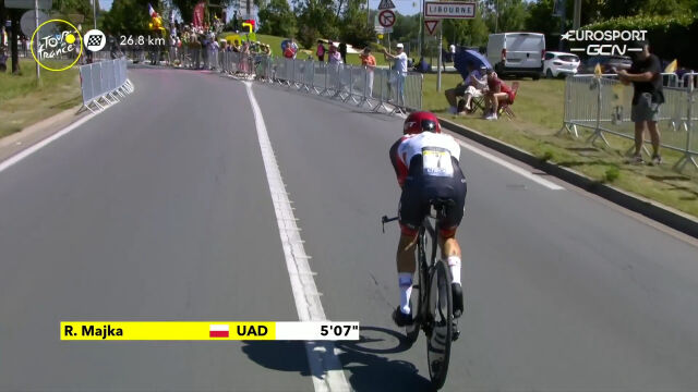 Majka na trasie 20. etapu Tour de France