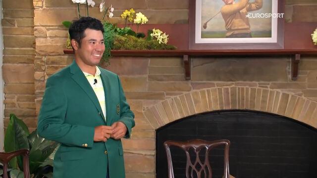 Matsuyama odebrał zieloną marynarkę za triumf w turnieju Masters w Auguście