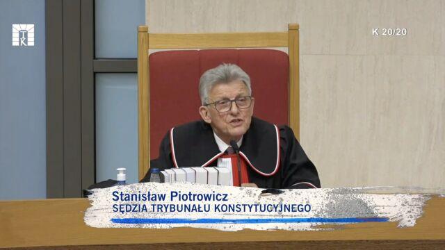 Stanisław Piotrowicz zadaje pytania Adamowi Bodnarowi