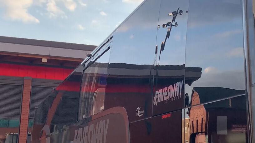 Autobus z piłkarzami Realu zaatakowany przez angielskich chuliganów