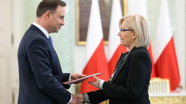 Pierwsza decyzja sędzi Przyłębskiej. Rzepliński ich nie dopuszczał, teraz będą orzekać