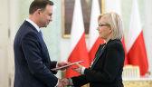 Prezydent: Julia Przyłębska pełniącą obowiązki prezesa TK