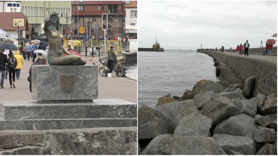 Wózek się stoczył, dziecko wpadło do morza. Policja: prawdopodobnie nieszczęśliwy wypadek