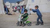 Obóz dla syryjskich uchodźców w Iraku