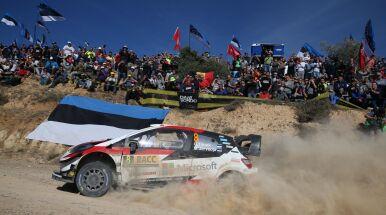 Ott Tanak mistrzem świata WRC. Kres francuskiej dominacji