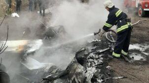Były minister rolnictwa Ukrainy zginął  w katastrofie lotniczej