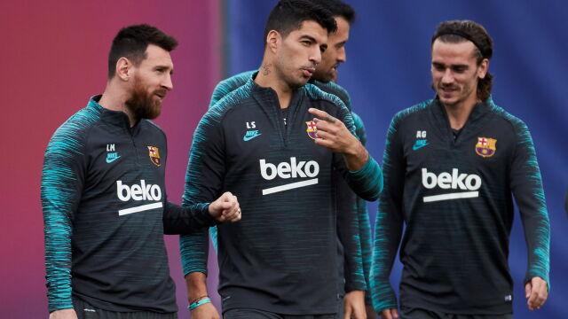 Wyjazdowa niemoc gwiazd Barcelony. Najdłużej na gola czeka Suarez