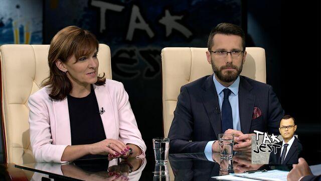 Gabriela Morawska-Stanecka i Radosław Fogiel w TAK JEST